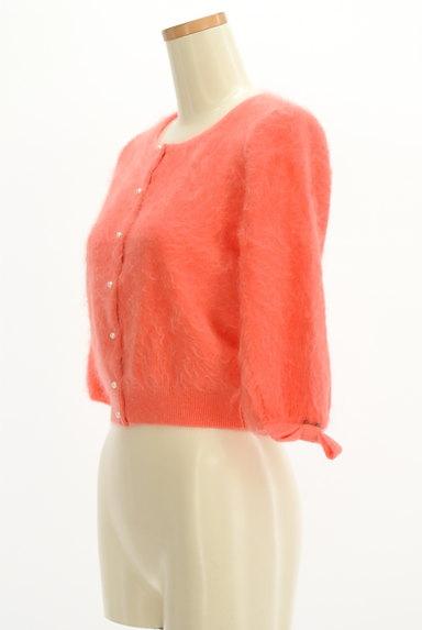 Lois CRAYON(ロイスクレヨン)の古着「リボン付き7分袖カーディガン(カーディガン・ボレロ)」大画像3へ