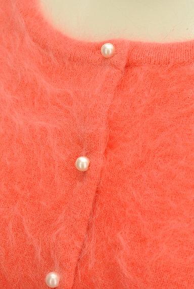 Lois CRAYON(ロイスクレヨン)の古着「リボン付き7分袖カーディガン(カーディガン・ボレロ)」大画像4へ
