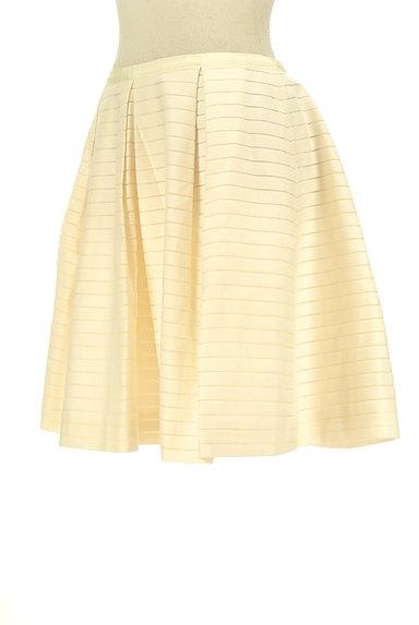 Bon mercerie(ボンメルスリー)の古着「タックフレア膝丈スカート(スカート)」大画像3へ