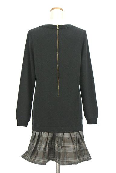 Rouge vif La cle(ルージュヴィフラクレ)の古着「裾切替ニットワンピース(ワンピース・チュニック)」大画像2へ