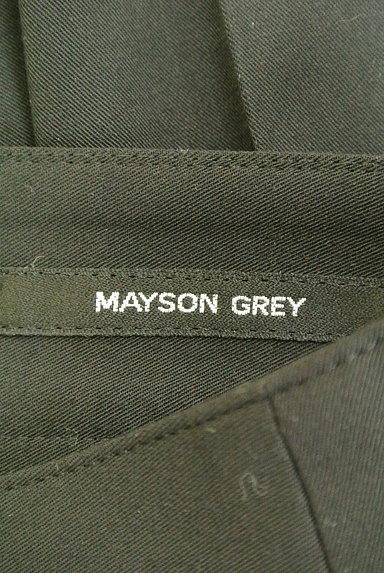 MAYSON GREY(メイソングレイ)の古着「美脚ストレートパンツ(パンツ)」大画像6へ