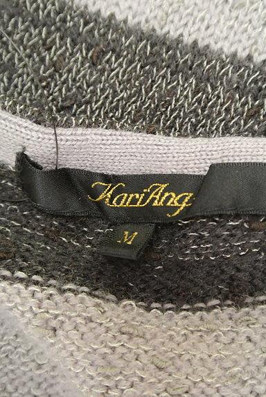KariAng(カリアング)の古着「太ボーダーフレンチニットワンピ(ワンピース・チュニック)」大画像6へ