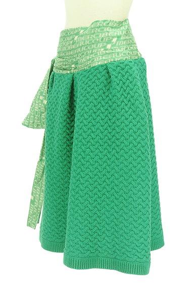 mercibeaucoup(メルシーボークー)の古着「ウエストリボンニットスカート(スカート)」大画像3へ