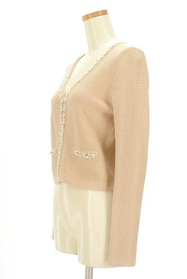 M-premier(エムプルミエ)の古着「パール&ビジューニットカーディガン(カーディガン・ボレロ)」大画像3へ