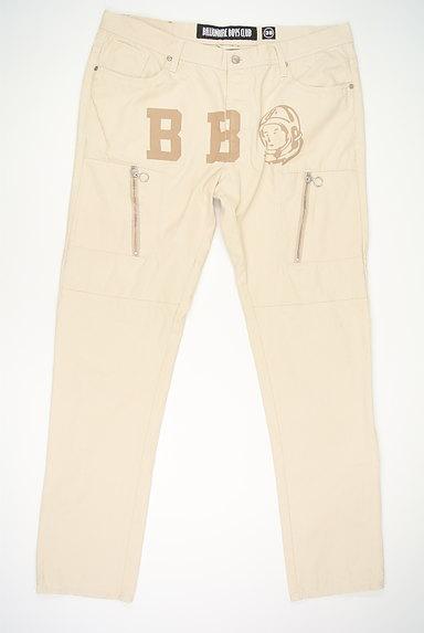 BILLIONAIRE BOYS CLUB(ビリオネアボーイズクラブ)の古着「ロゴプリントストレートパンツ(パンツ)」大画像1へ