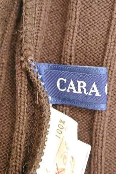 CARA O CRUZ(キャラオクルス)の古着「チェックパイピングリブニット(ニット)」大画像6へ