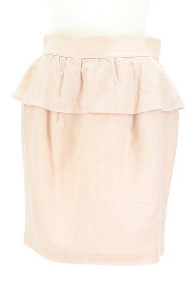 LAISSE PASSE(レッセパッセ)の古着「ペプラムタイトスカート(ミニスカート)」大画像1へ
