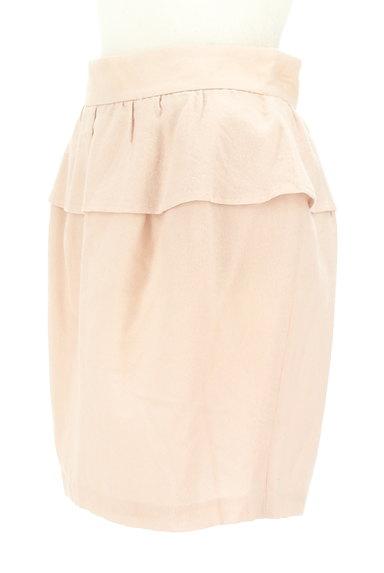 LAISSE PASSE(レッセパッセ)の古着「ペプラムタイトスカート(ミニスカート)」大画像3へ