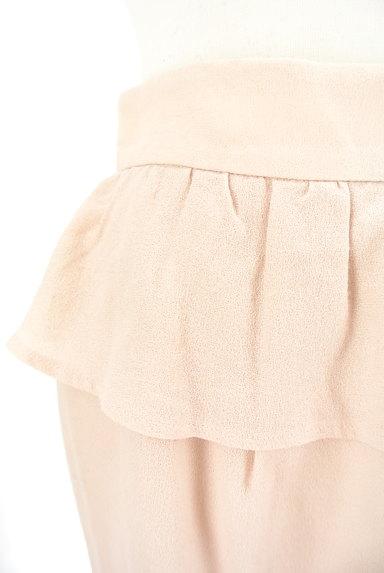 LAISSE PASSE(レッセパッセ)の古着「ペプラムタイトスカート(ミニスカート)」大画像4へ
