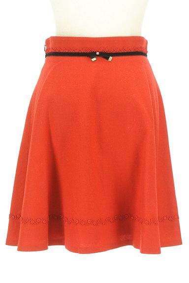 LAISSE PASSE(レッセパッセ)の古着「リボンベロアラインフレアスカート(スカート)」大画像2へ