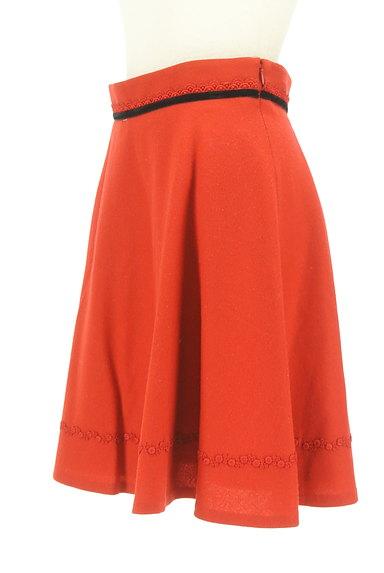 LAISSE PASSE(レッセパッセ)の古着「リボンベロアラインフレアスカート(スカート)」大画像3へ