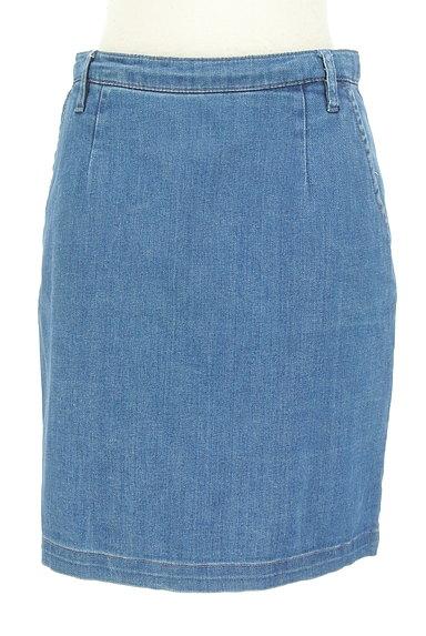 NATURAL BEAUTY BASIC(ナチュラルビューティベーシック)の古着「デニムタイトスカート(ミニスカート)」大画像1へ
