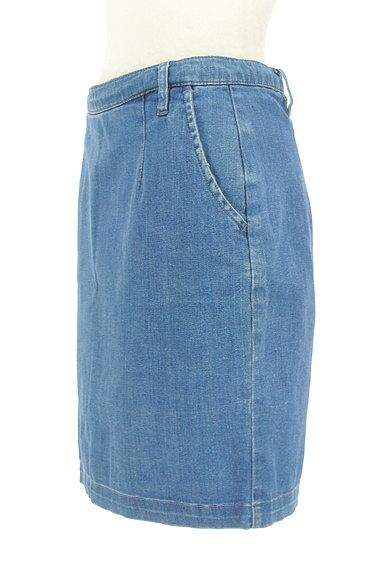NATURAL BEAUTY BASIC(ナチュラルビューティベーシック)の古着「デニムタイトスカート(ミニスカート)」大画像3へ