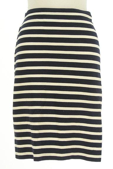 LOUNIE(ルーニィ)の古着「ボーダータイトスカート(スカート)」大画像1へ