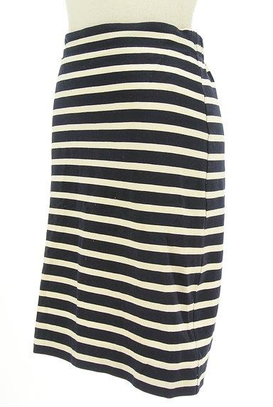 LOUNIE(ルーニィ)の古着「ボーダータイトスカート(スカート)」大画像3へ