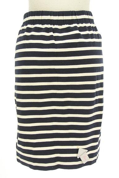 LOUNIE(ルーニィ)の古着「ボーダータイトスカート(スカート)」大画像4へ