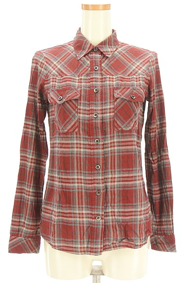 LOUNIE(ルーニィ)の古着「チェック柄シャツ(カジュアルシャツ)」大画像1へ