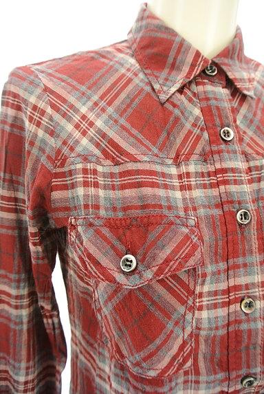 LOUNIE(ルーニィ)の古着「チェック柄シャツ(カジュアルシャツ)」大画像4へ