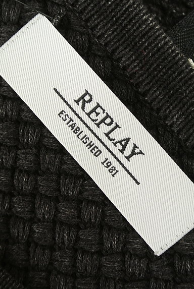 REPLAY(リプレイ)の古着「ローゲージニットフレアワンピース(ワンピース・チュニック)」大画像6へ