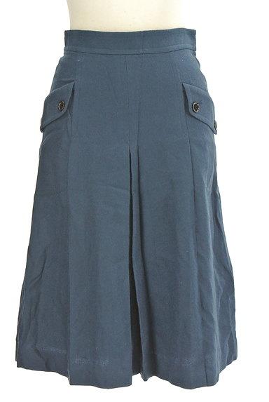 LOUNIE(ルーニィ)の古着「サイドポケット膝下丈ウールスカート(スカート)」大画像1へ