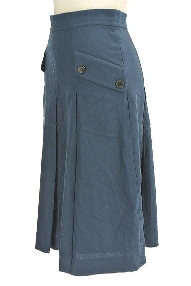 LOUNIE(ルーニィ)の古着「サイドポケット膝下丈ウールスカート(スカート)」大画像3へ