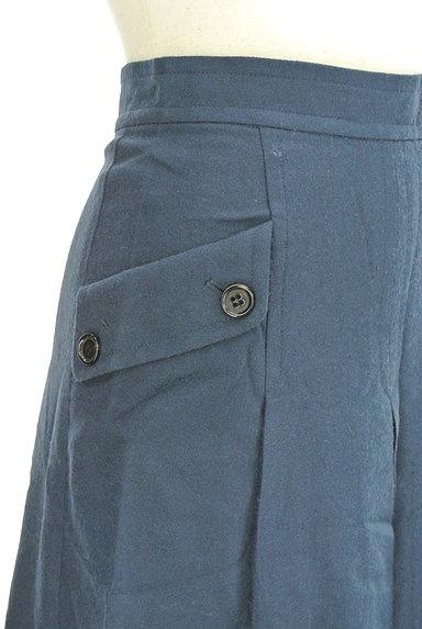 LOUNIE(ルーニィ)の古着「サイドポケット膝下丈ウールスカート(スカート)」大画像4へ