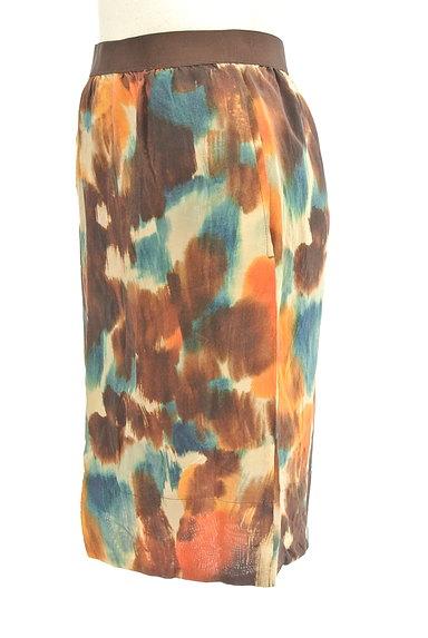 LOUNIE(ルーニィ)の古着「ぼかし柄セミタイトスカート(ミニスカート)」大画像3へ