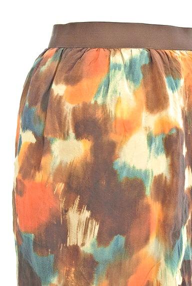 LOUNIE(ルーニィ)の古着「ぼかし柄セミタイトスカート(ミニスカート)」大画像4へ