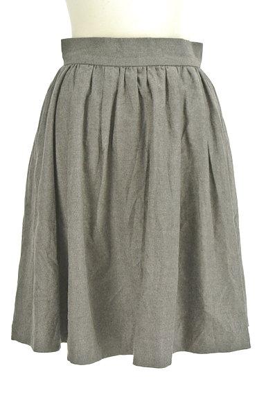 LOUNIE(ルーニィ)の古着「シンプルタックフレアスカート(スカート)」大画像1へ