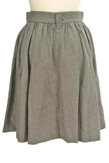 LOUNIE(ルーニィ)の古着「シンプルタックフレアスカート(スカート)」大画像2へ