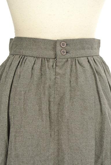 LOUNIE(ルーニィ)の古着「シンプルタックフレアスカート(スカート)」大画像4へ