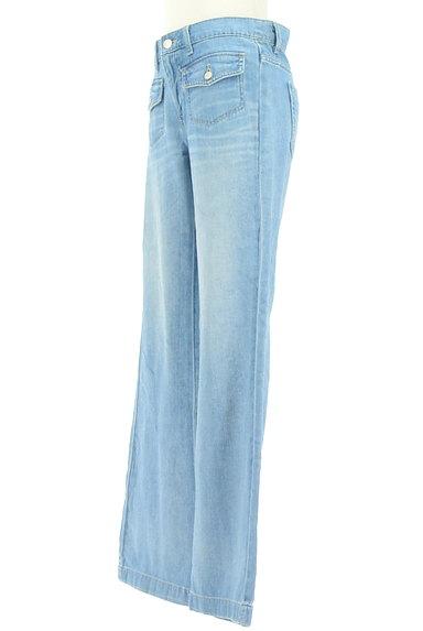 LOUNIE(ルーニィ)の古着「デニムフレアパンツ(デニムパンツ)」大画像3へ