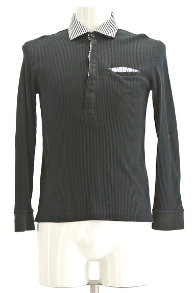 NICOLE(ニコル)の古着「襟付リブカットソー(カットソー・プルオーバー)」大画像1へ