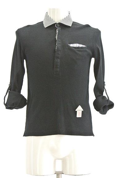 NICOLE(ニコル)の古着「襟付リブカットソー(カットソー・プルオーバー)」大画像4へ