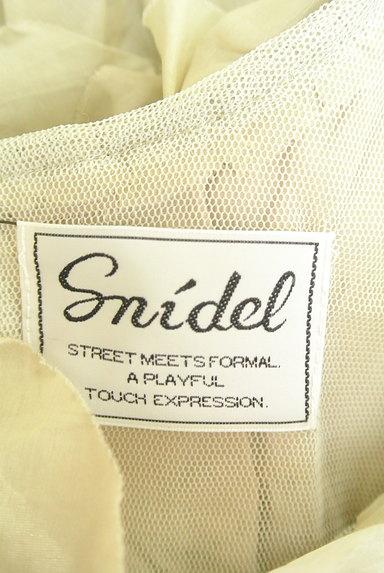 Snidel(スナイデル)の古着「ボリュームティアードフリルワンピース(ワンピース・チュニック)」大画像6へ