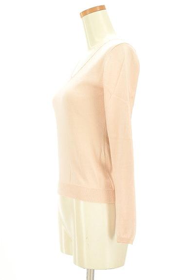 NATURAL BEAUTY(ナチュラルビューティ)の古着「襟ぐりパールニット(ニット)」大画像3へ