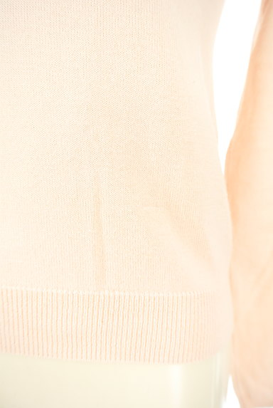 NATURAL BEAUTY(ナチュラルビューティ)の古着「襟ぐりパールニット(ニット)」大画像5へ