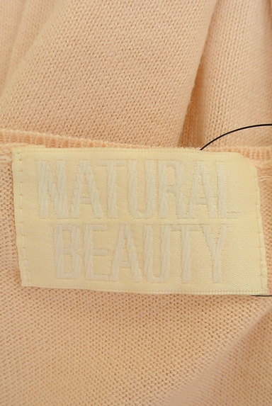 NATURAL BEAUTY(ナチュラルビューティ)の古着「襟ぐりパールニット(ニット)」大画像6へ