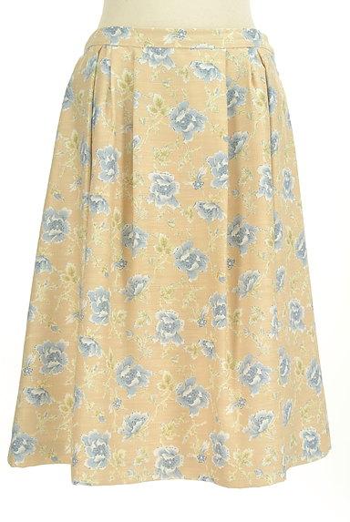 KEITH(キース)の古着「ミモレ丈花柄フレアスカート(スカート)」大画像1へ
