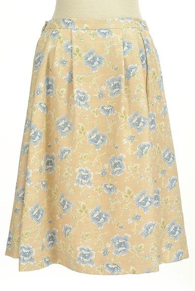 KEITH(キース)の古着「ミモレ丈花柄フレアスカート(スカート)」大画像2へ