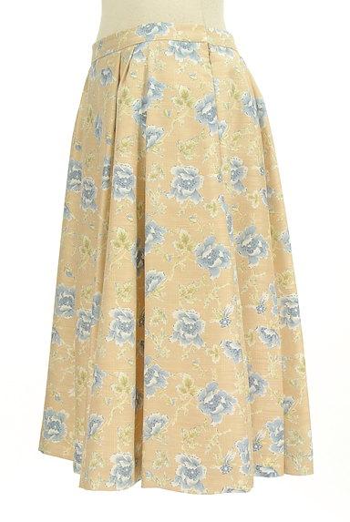 KEITH(キース)の古着「ミモレ丈花柄フレアスカート(スカート)」大画像3へ