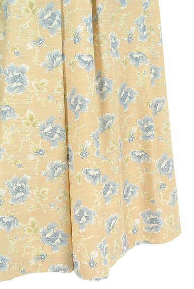 KEITH(キース)の古着「ミモレ丈花柄フレアスカート(スカート)」大画像4へ