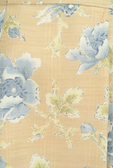 KEITH(キース)の古着「ミモレ丈花柄フレアスカート(スカート)」大画像5へ