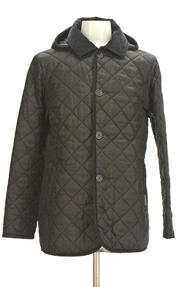 LAVENHAM(ラベンハム)の古着「フード付きキルティングコート(コート)」大画像1へ