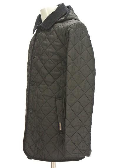 LAVENHAM(ラベンハム)の古着「フード付きキルティングコート(コート)」大画像3へ