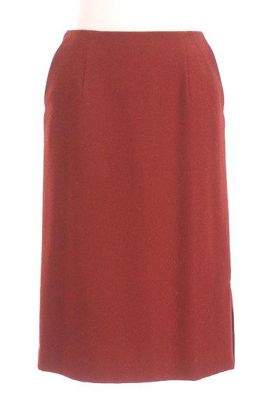 NATURAL BEAUTY BASIC(ナチュラルビューティベーシック)の古着「膝下丈ウールタイトスカート(スカート)」大画像1へ