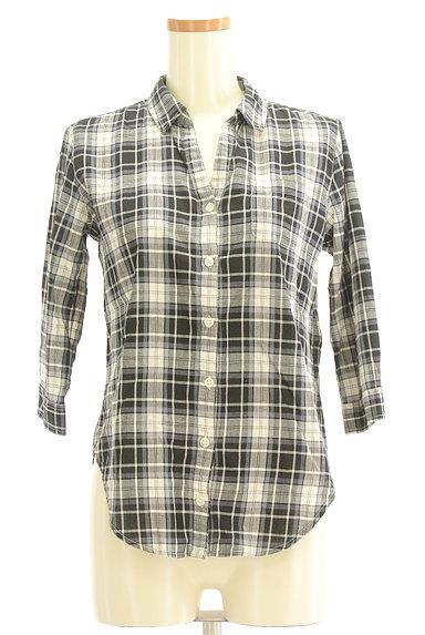 Te chichi(テチチ)の古着「七分袖オープンカラーシャツ(カジュアルシャツ)」大画像1へ