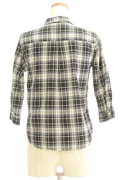 Te chichi(テチチ)の古着「七分袖オープンカラーシャツ(カジュアルシャツ)」大画像2へ