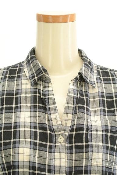 Te chichi(テチチ)の古着「七分袖オープンカラーシャツ(カジュアルシャツ)」大画像4へ