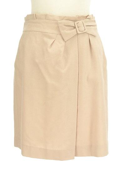 PROPORTION BODY DRESSING(プロポーションボディ ドレッシング)の古着「リボンベルト風スエードスカート(スカート)」大画像1へ